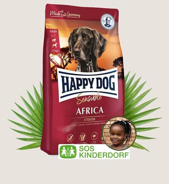 HAPPY DOG Supreme Sensible Africa 4kg.