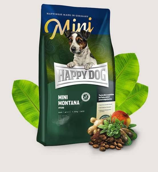 HAPPY DOG Supreme Sensible Mini Montana 4 kg.