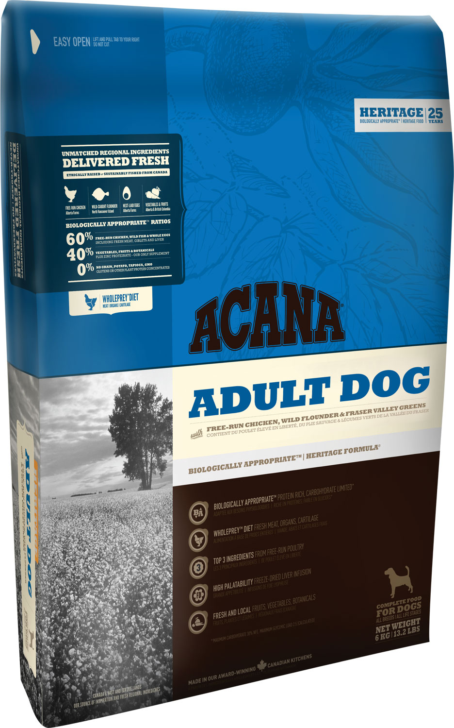 ACANA Adult Dog 2 kg.