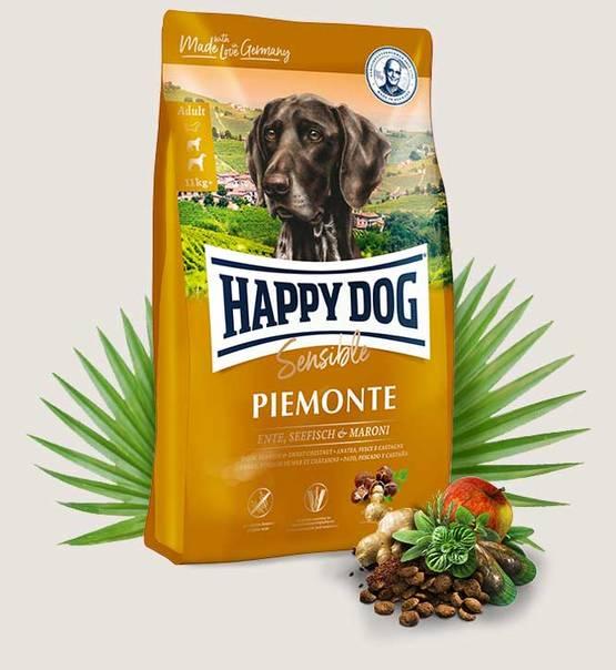 HAPPY DOG Supreme Sensible Piemonte 4kg.