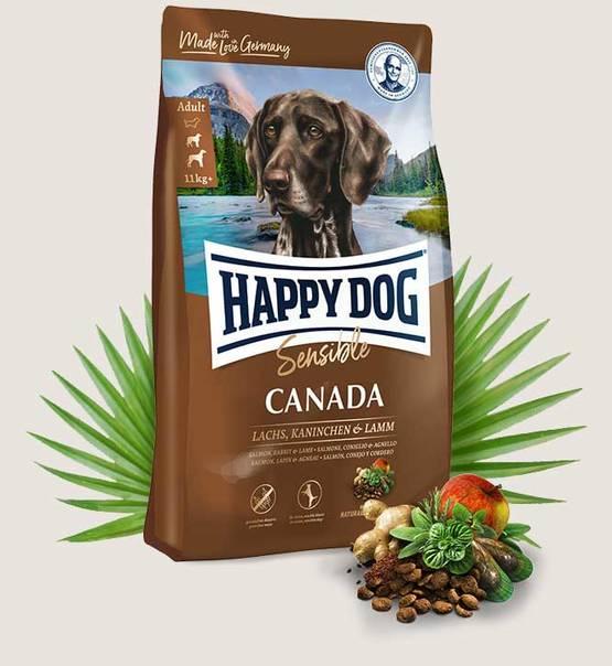 HAPPY DOG Supreme Sensible Canada 12,5kg.