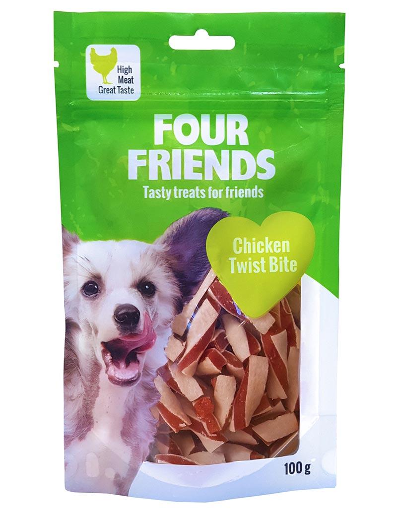 FOUR FRIENDS Chicken Twist Bite 100 gr.