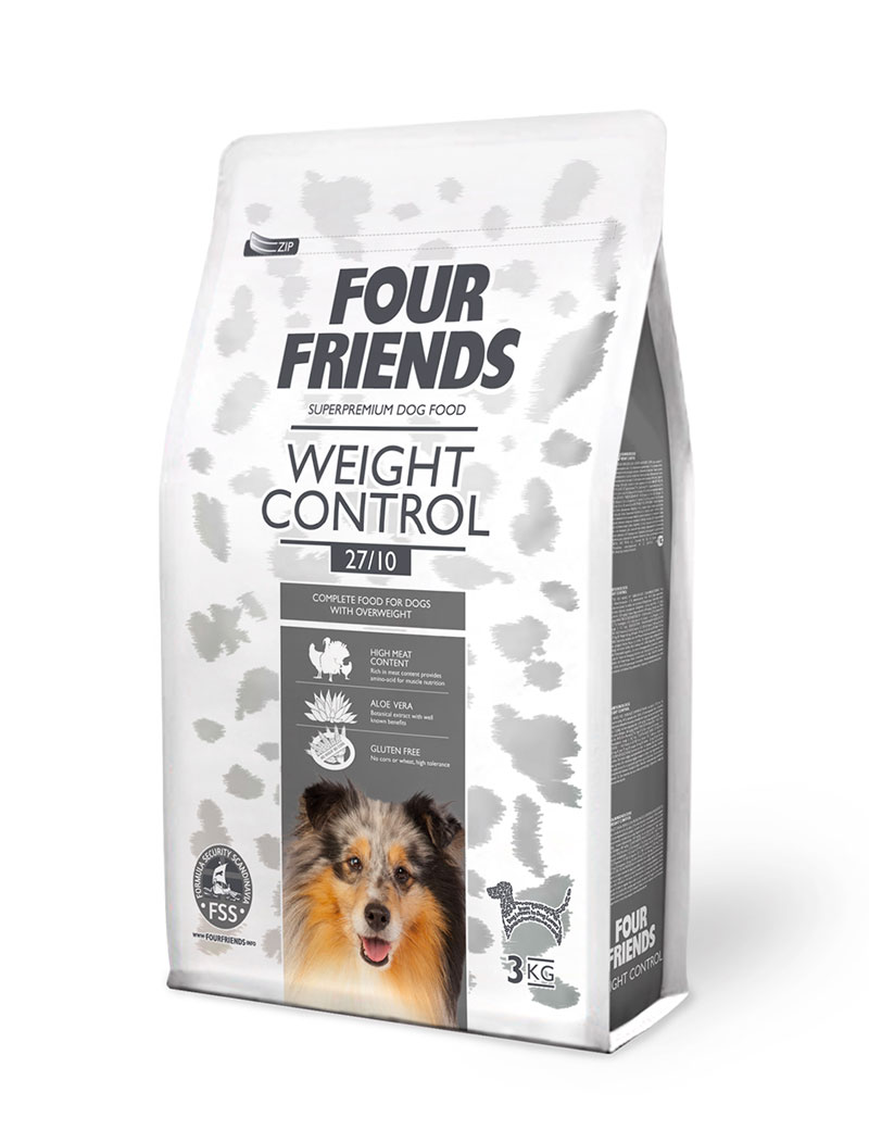 FOUR FRIENDS Weight Control 3 kg.