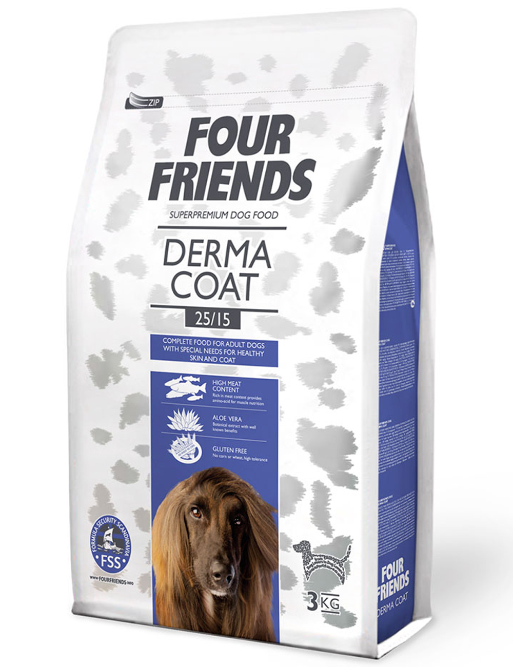 FOUR FRIENDS Dermacoat 3 kg.