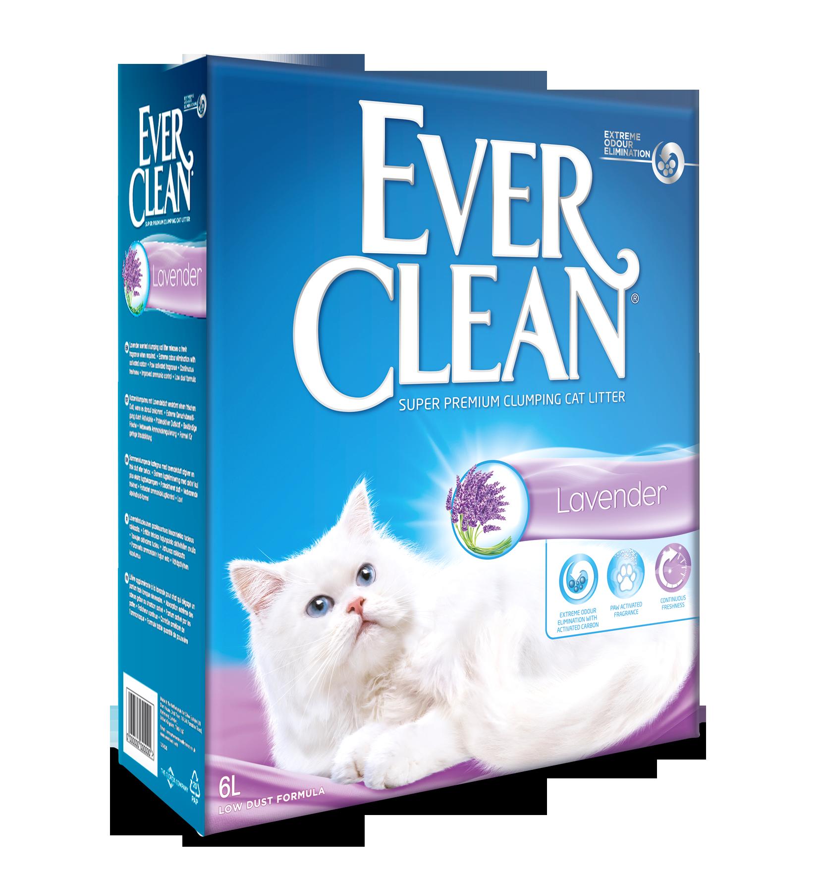 EVER CLEAN Lavendel 6L