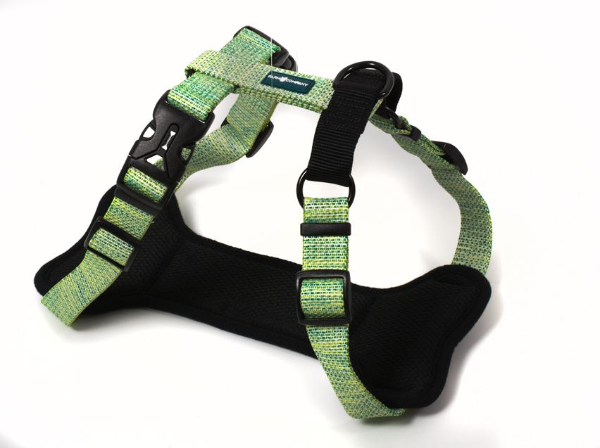 Kampanjvara! Köp Sele från FARM COMPANY - få matchande koppel på köpet! (värde 199) Lime Green Large