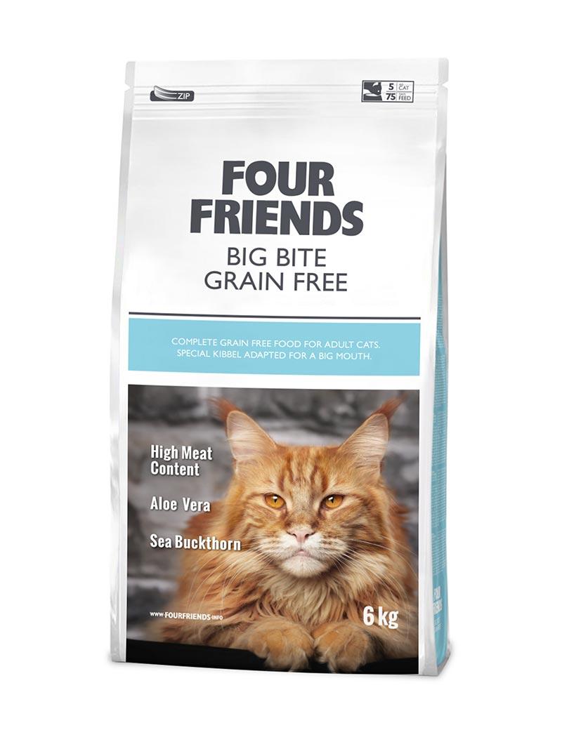 FOUR FRIENDS Grain-free Big Bite 6 kg.