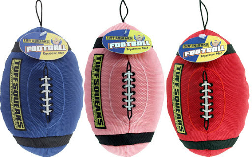 Tuff  Squeaks Football Large