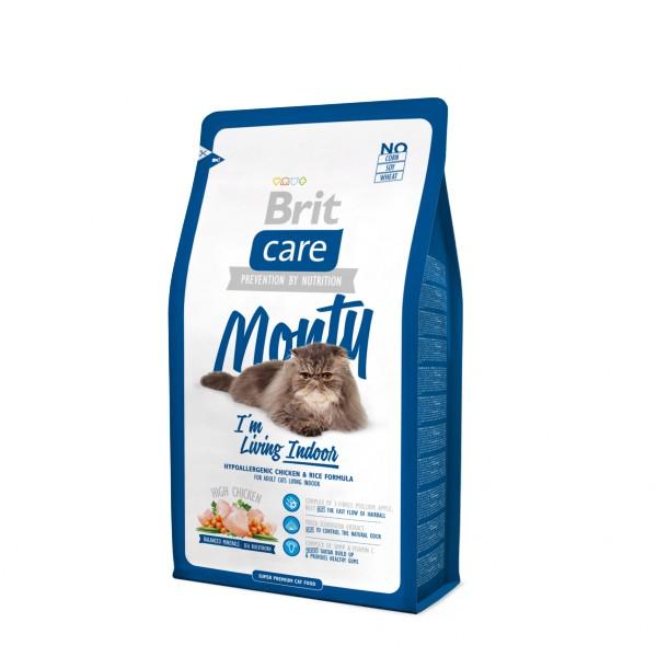 Brit Care Cat Monty Indoor 7 kg.