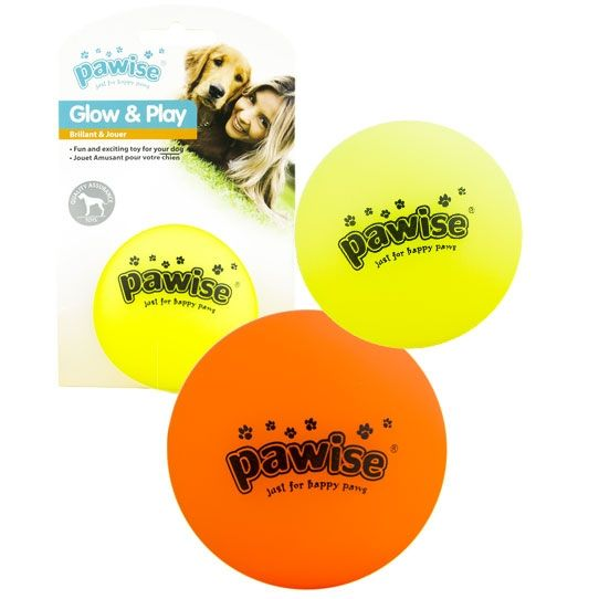 Pawise Glow & Play Luminous Ball ⌀ 5 cm.