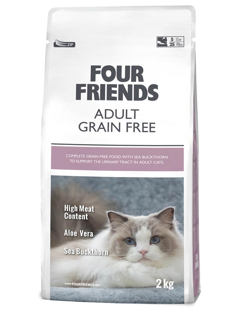FOUR FRIENDS Adult Grain-free 2 kg.