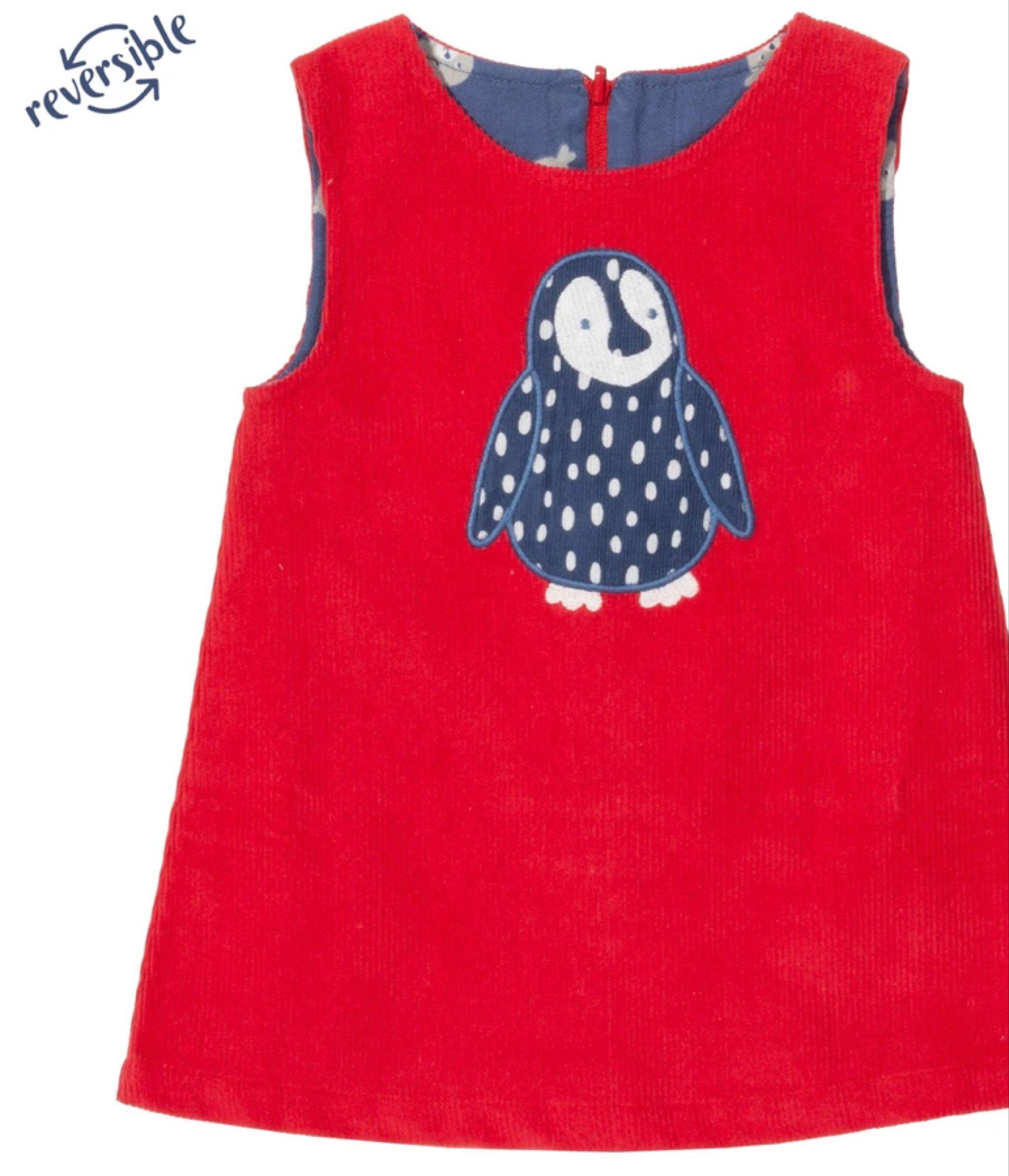 Penguin reversible cord dress