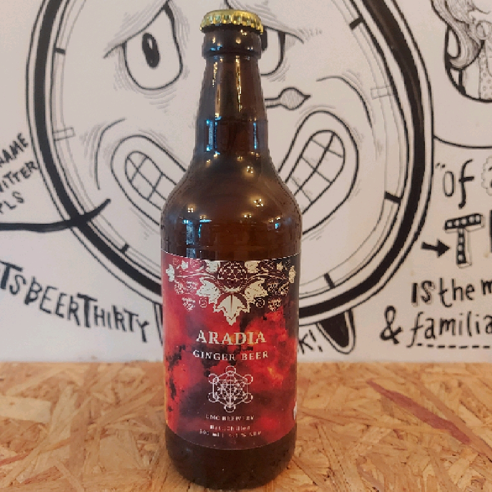 DMC Brewery Aradia Alcoholic Ginger Beer 4.5 %