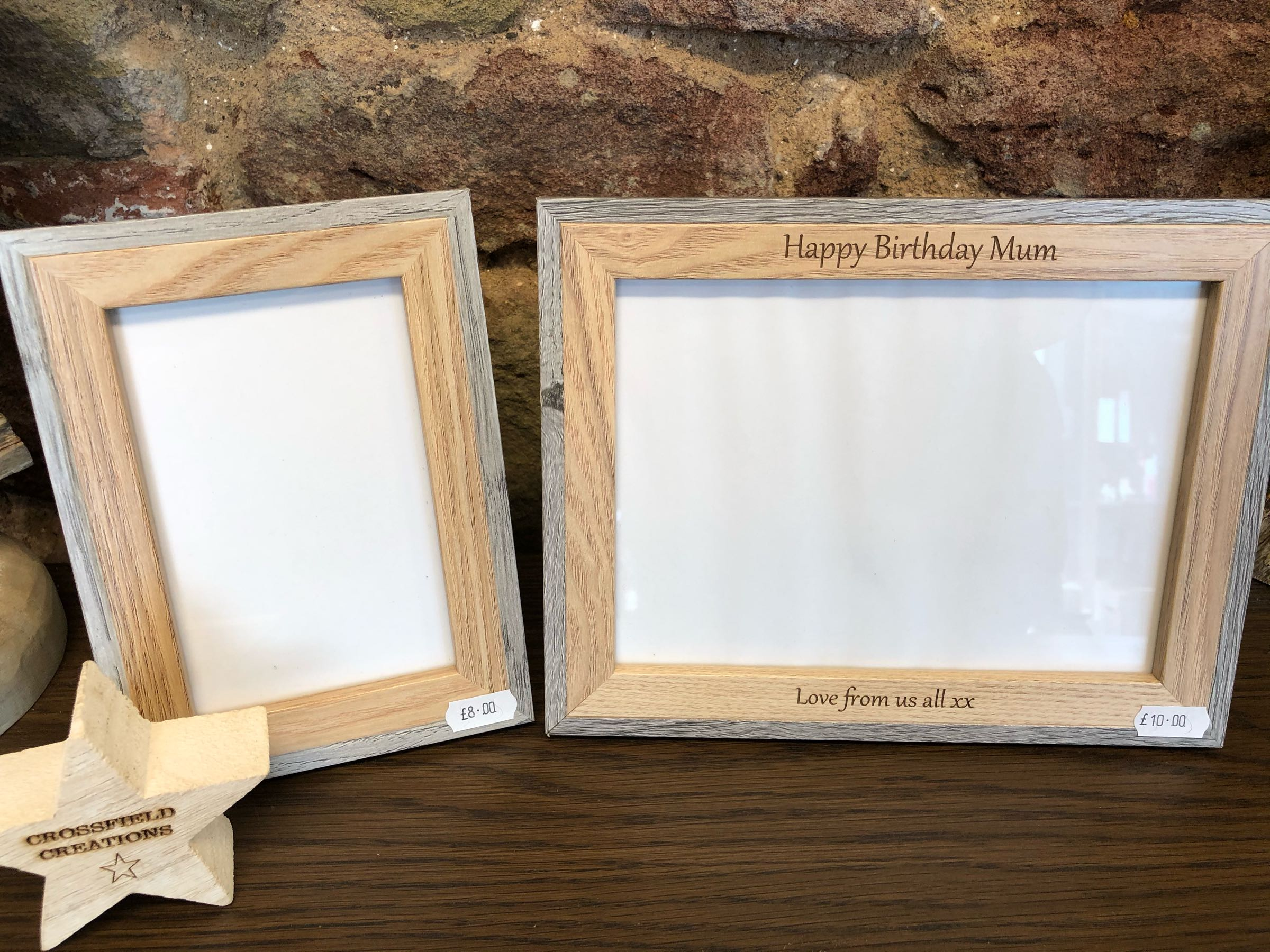 Engraved Frames
