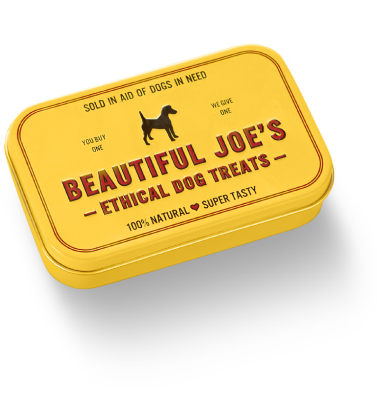 Beautiful Joe's Ethical Tin & Dog Treats