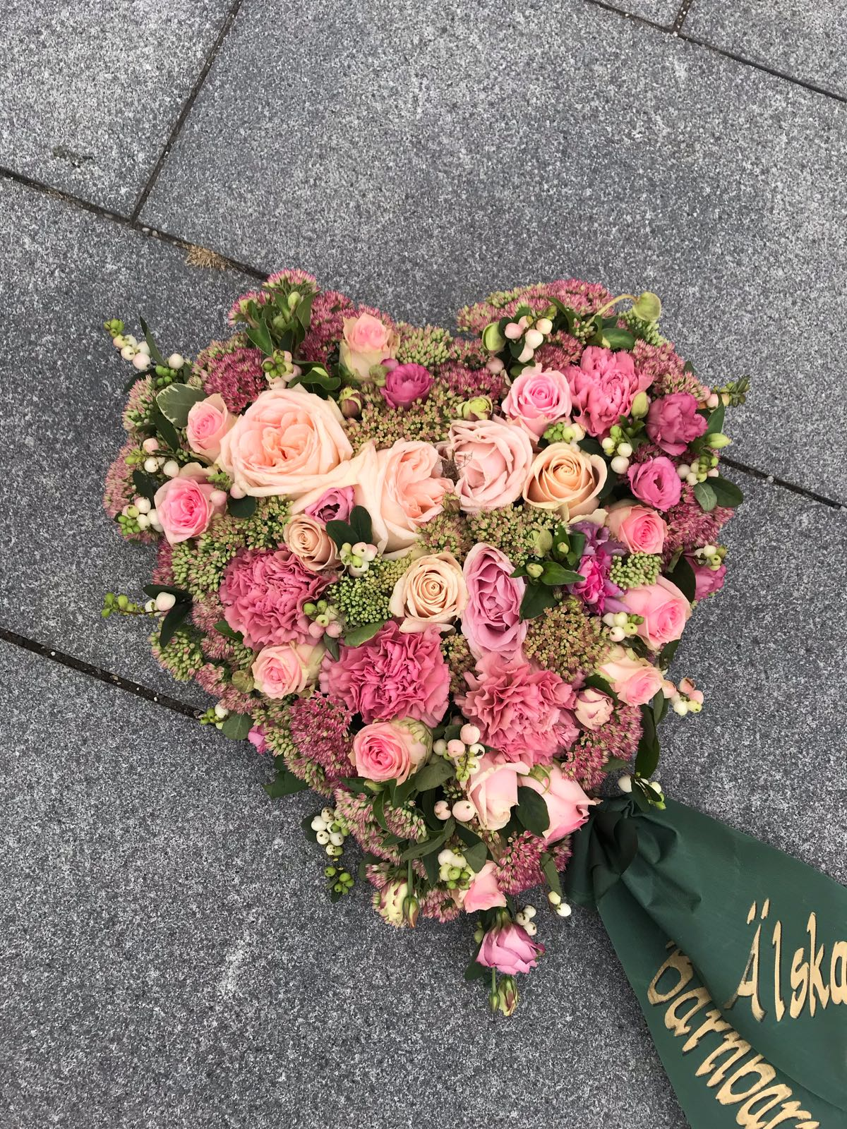 Floristens val - Oasishjärta - 50cm