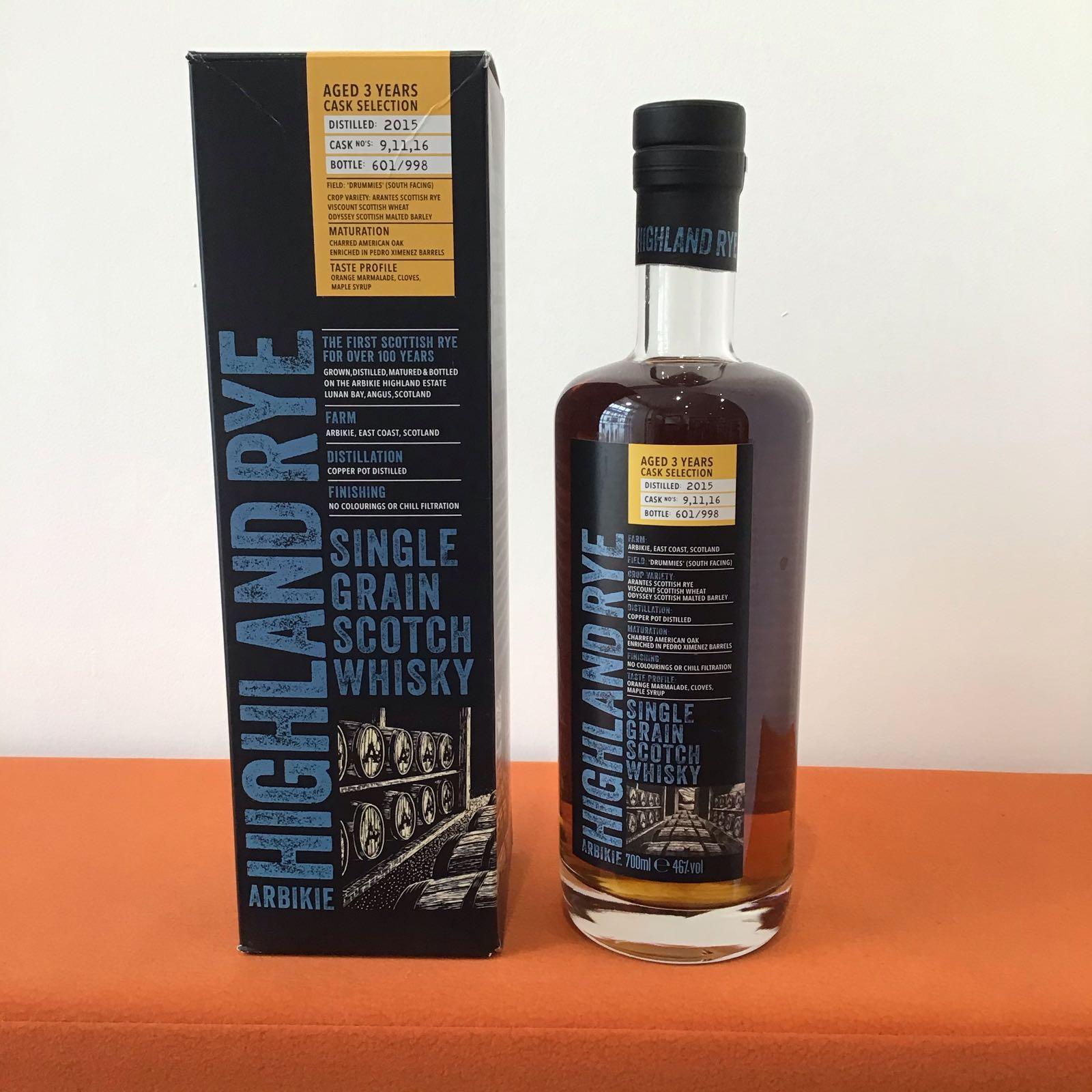Arbikie Highland Rye (1st release)