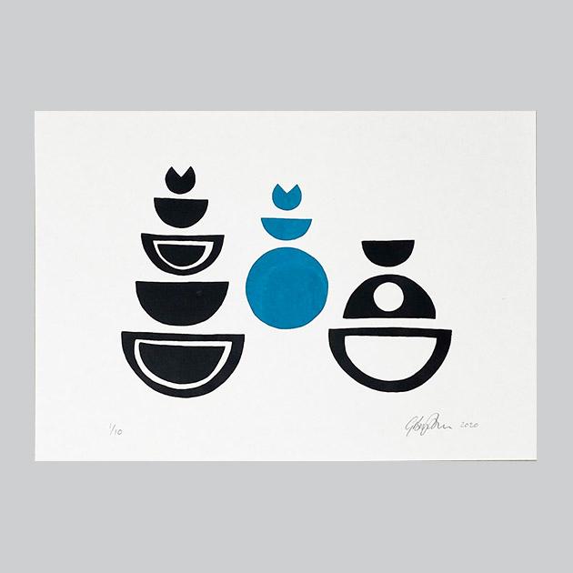 Acrylic Screen Print - Genevieve Broughton