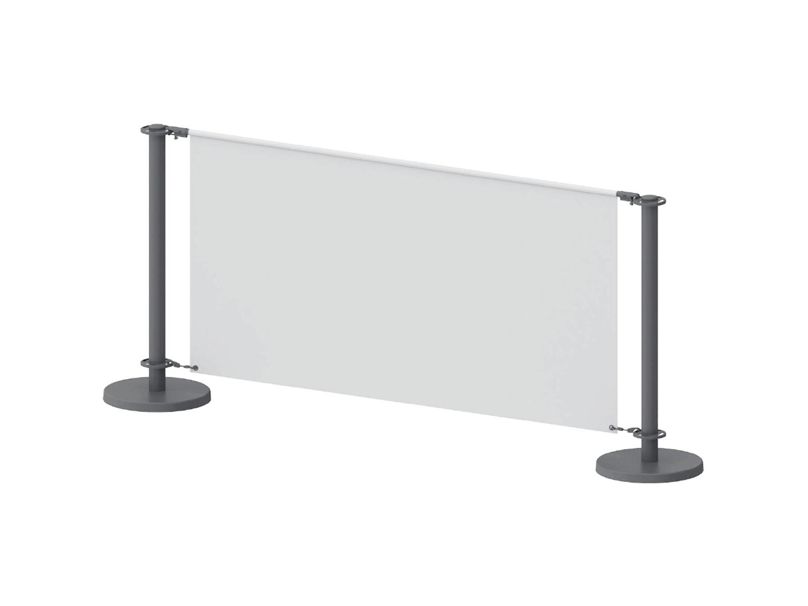 Queue Mesh Banner Barrier