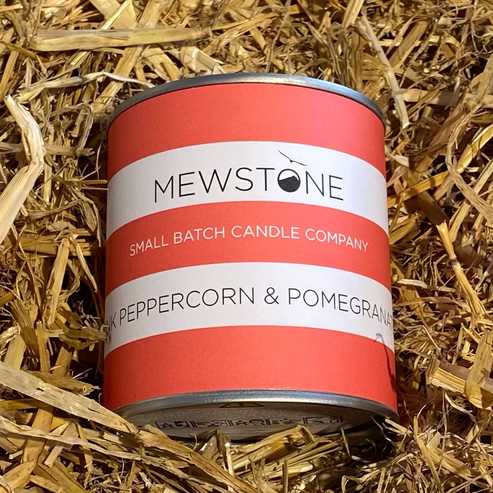 Pink Peppercorn & Pomegranate Paint Tin Candle
