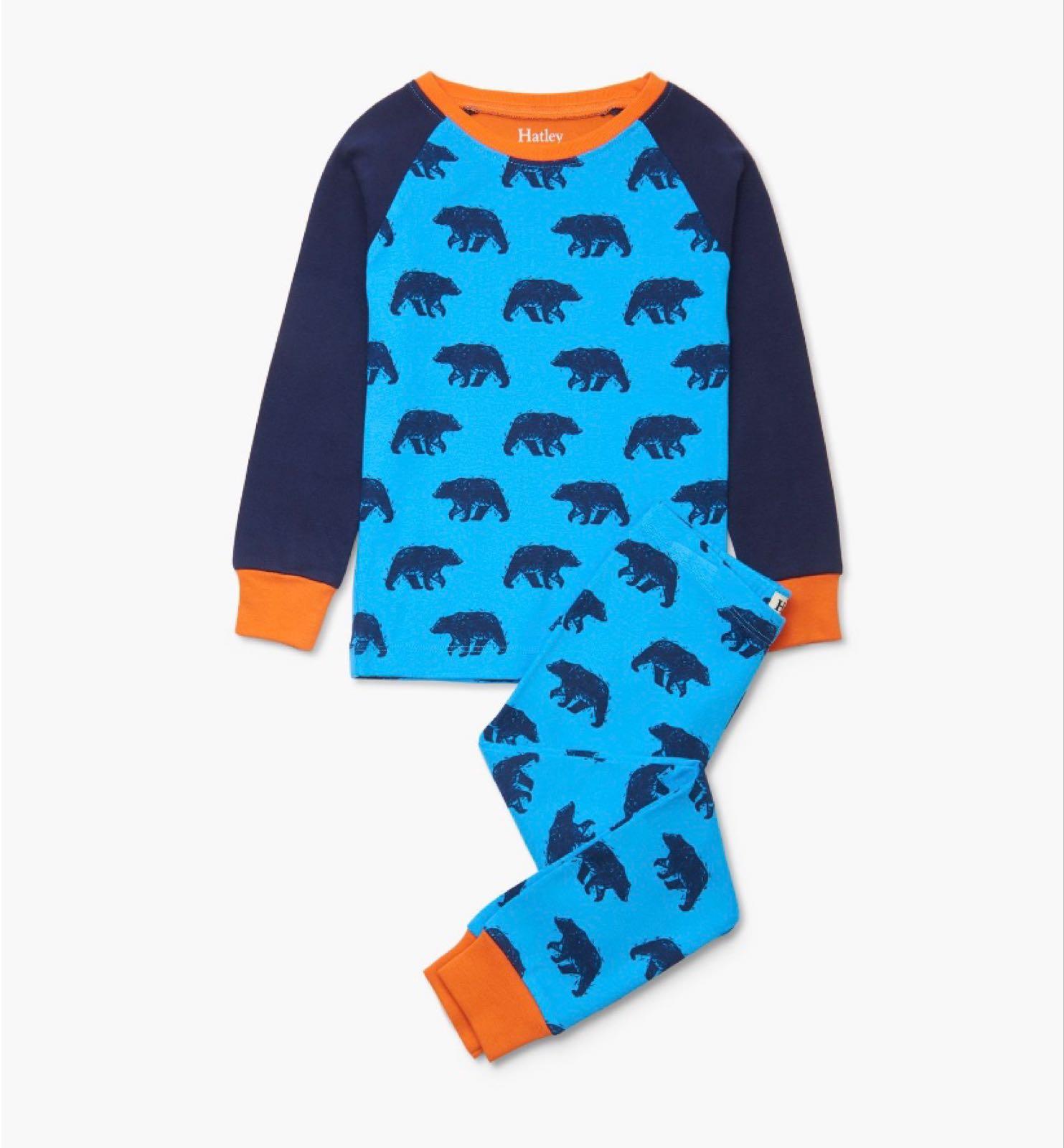 Hatley Blue Bears Organic Pyjamas