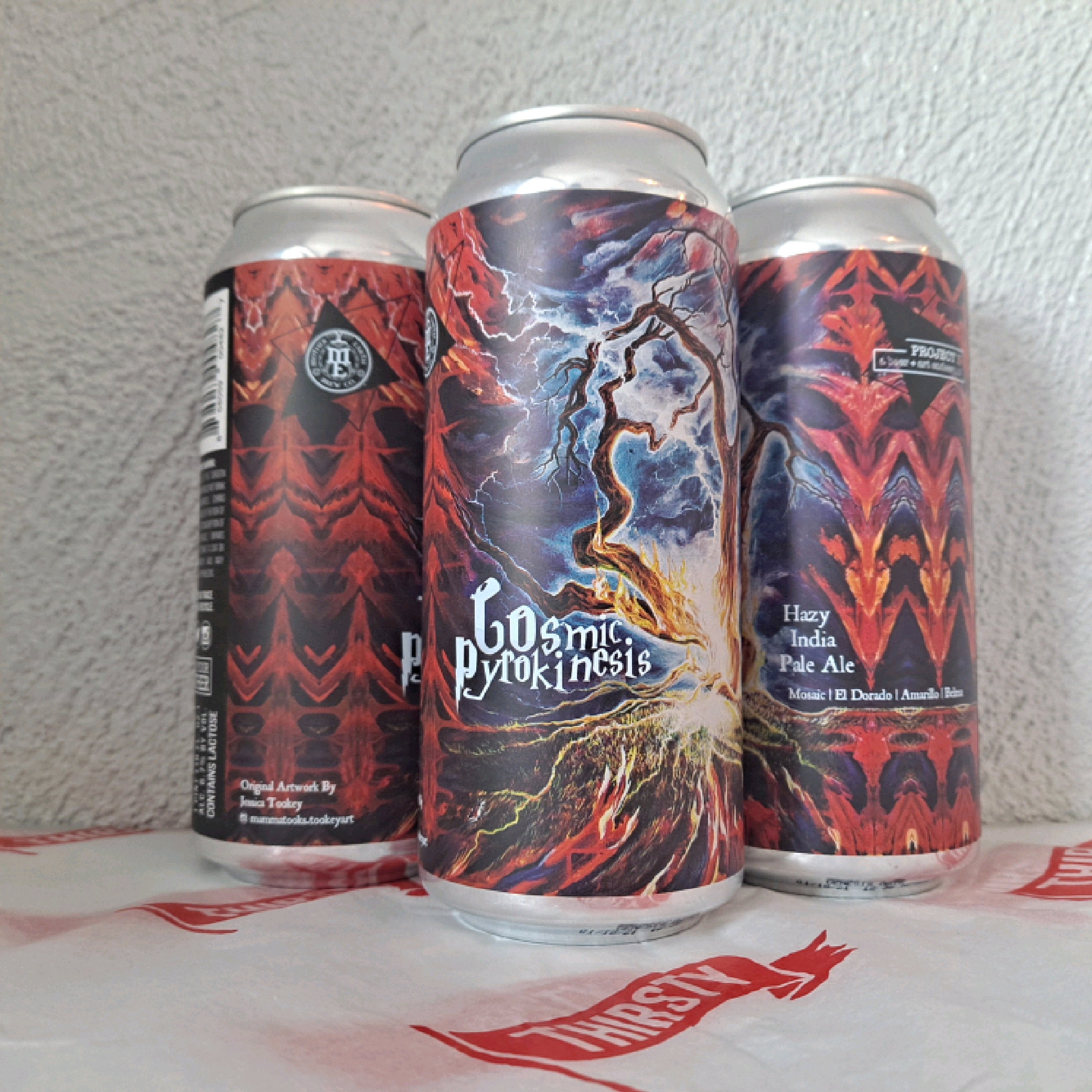 Mother Earth | Cosmic Pyrokinesis | Hazy IPA  6.7% 473ml
