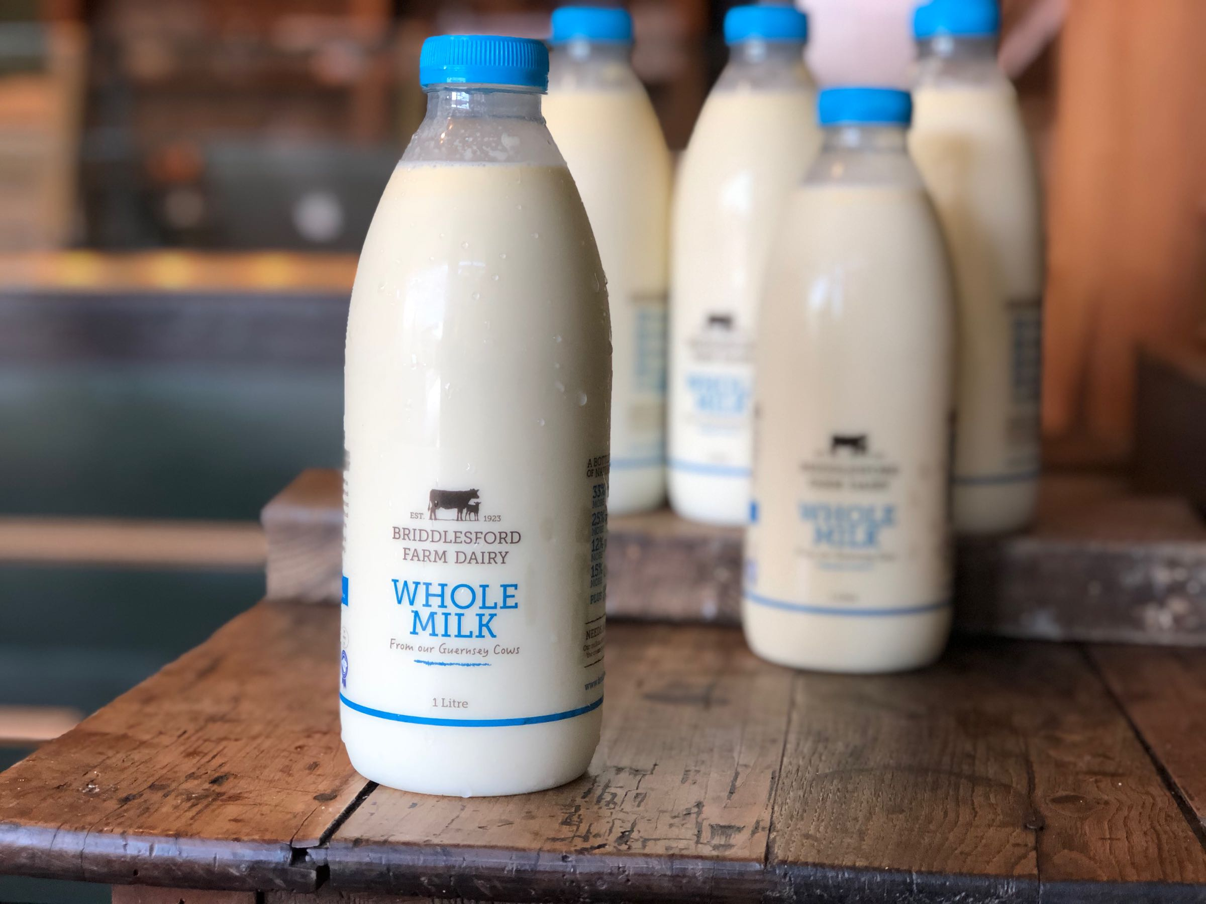 Briddlesford Dairy Whole Milk 1 Litre