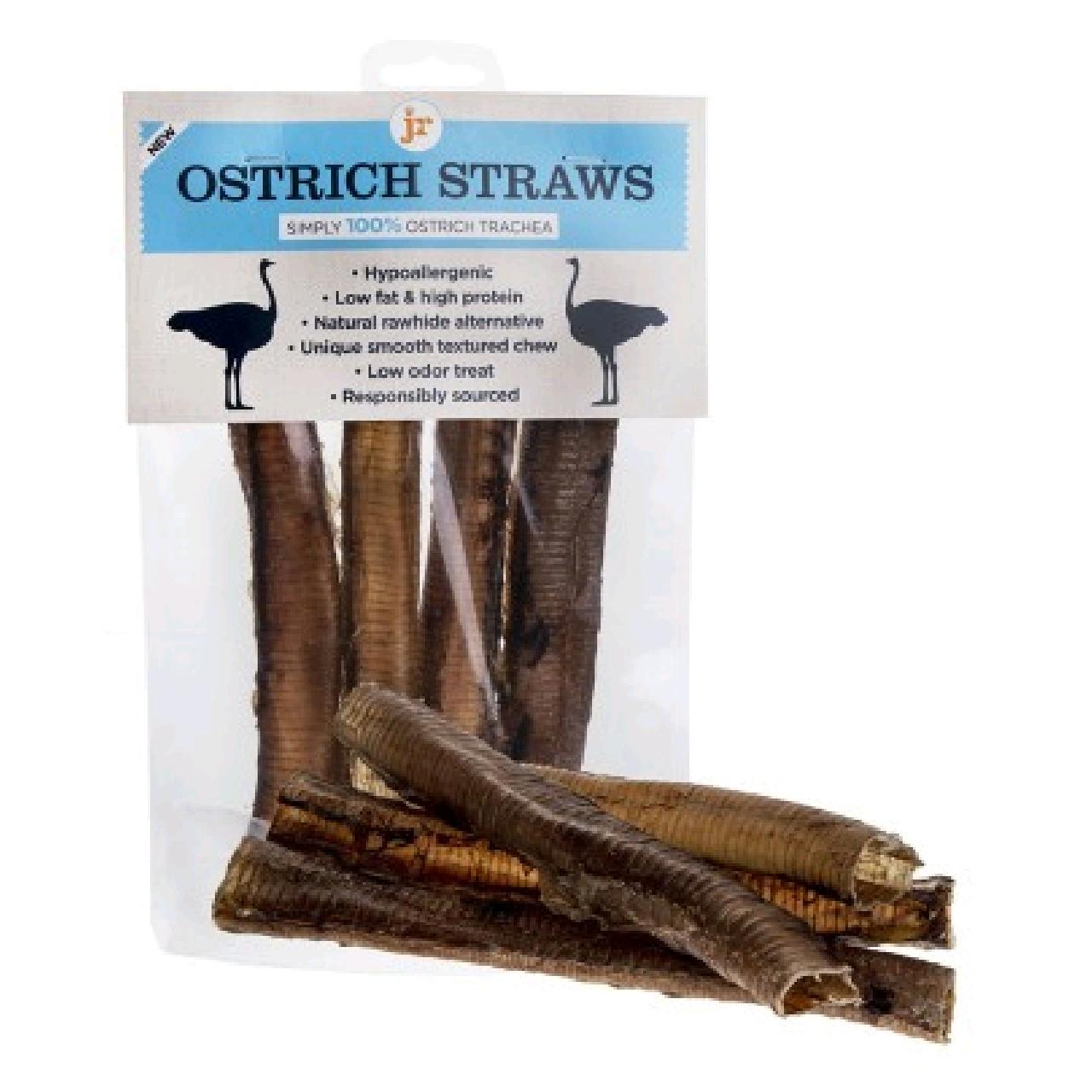 JR Ostrich Straws 4pk
