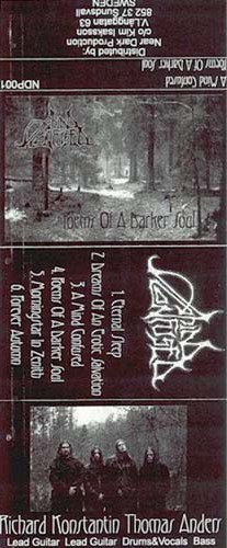 "A Mind Confused ""Poems of a Darker Soul"" (demo cassette, used)"