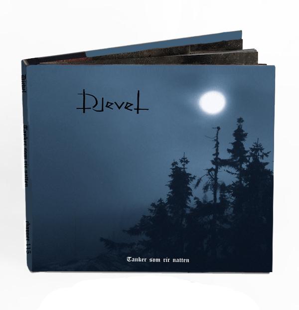 """Djevel """"Tanker Som Rir Natten"""" (cd, deluxe digibook w/exclusive tshirt)"""