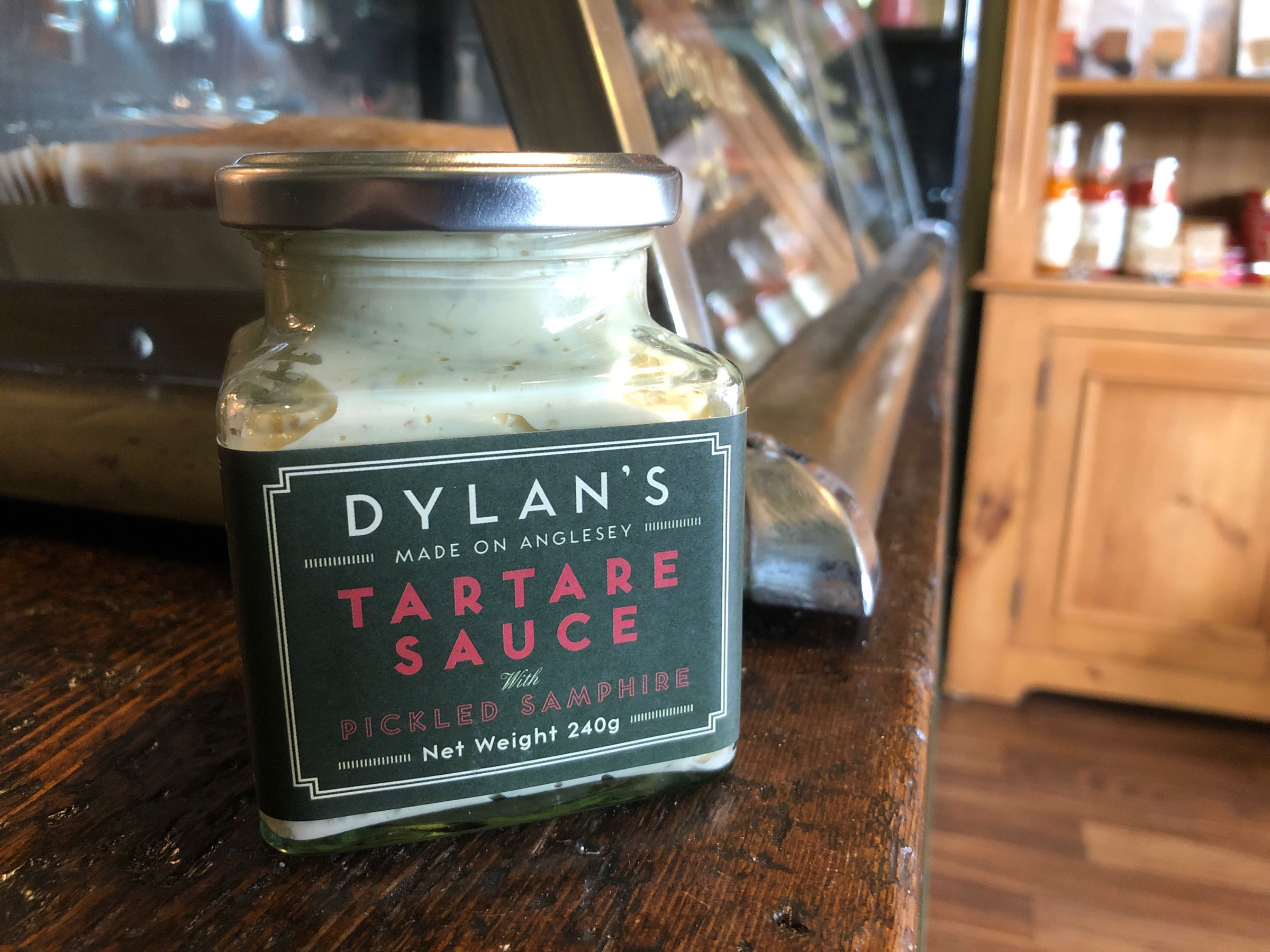 Dylan's Tartare Sauce with pickled samphire