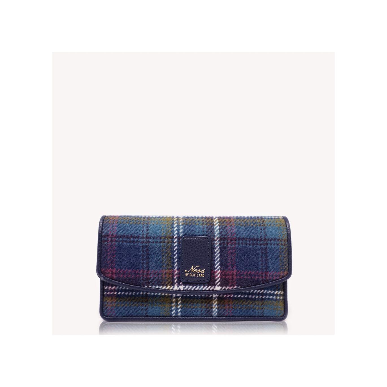 Fortingall Tweed Clutch- Ness Jewel