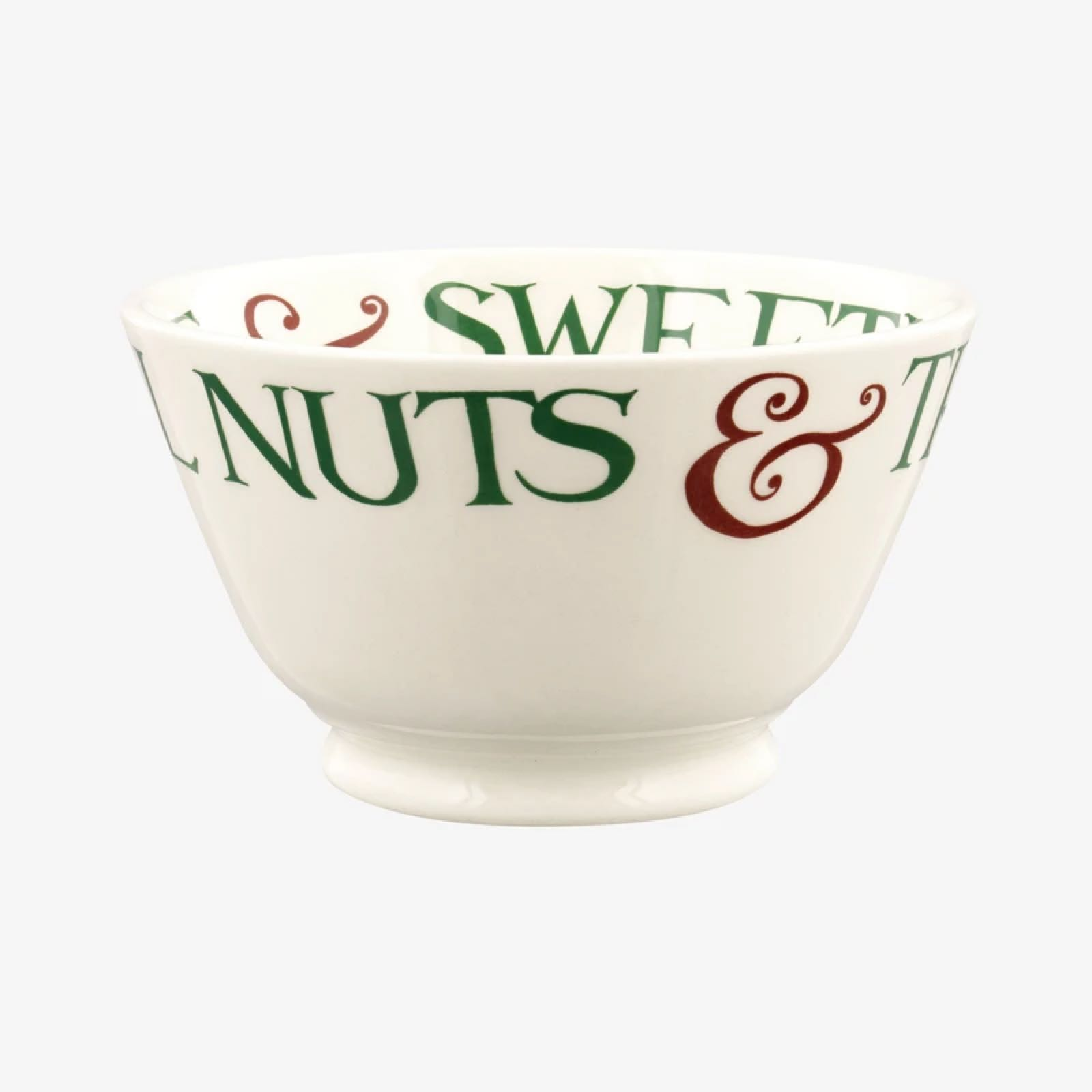 Emma bridgewater Christmas toast & marmalade Brazil nuts, sweets and chocolate small bowl