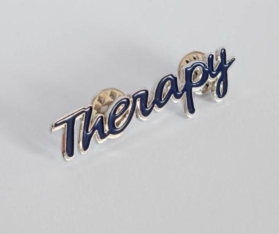 """""""Therapy"""" pinsAndreas Meinich"""