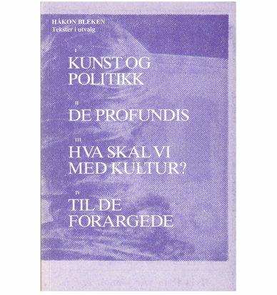Tekster i utvalg - Håkon Bleken