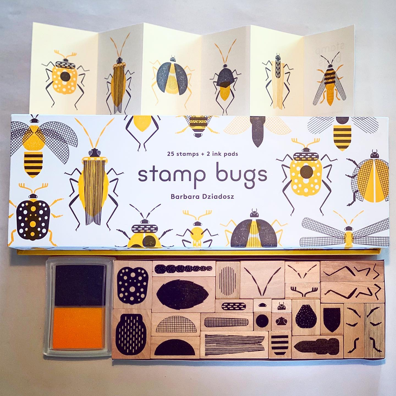 Stämpelset Bugs