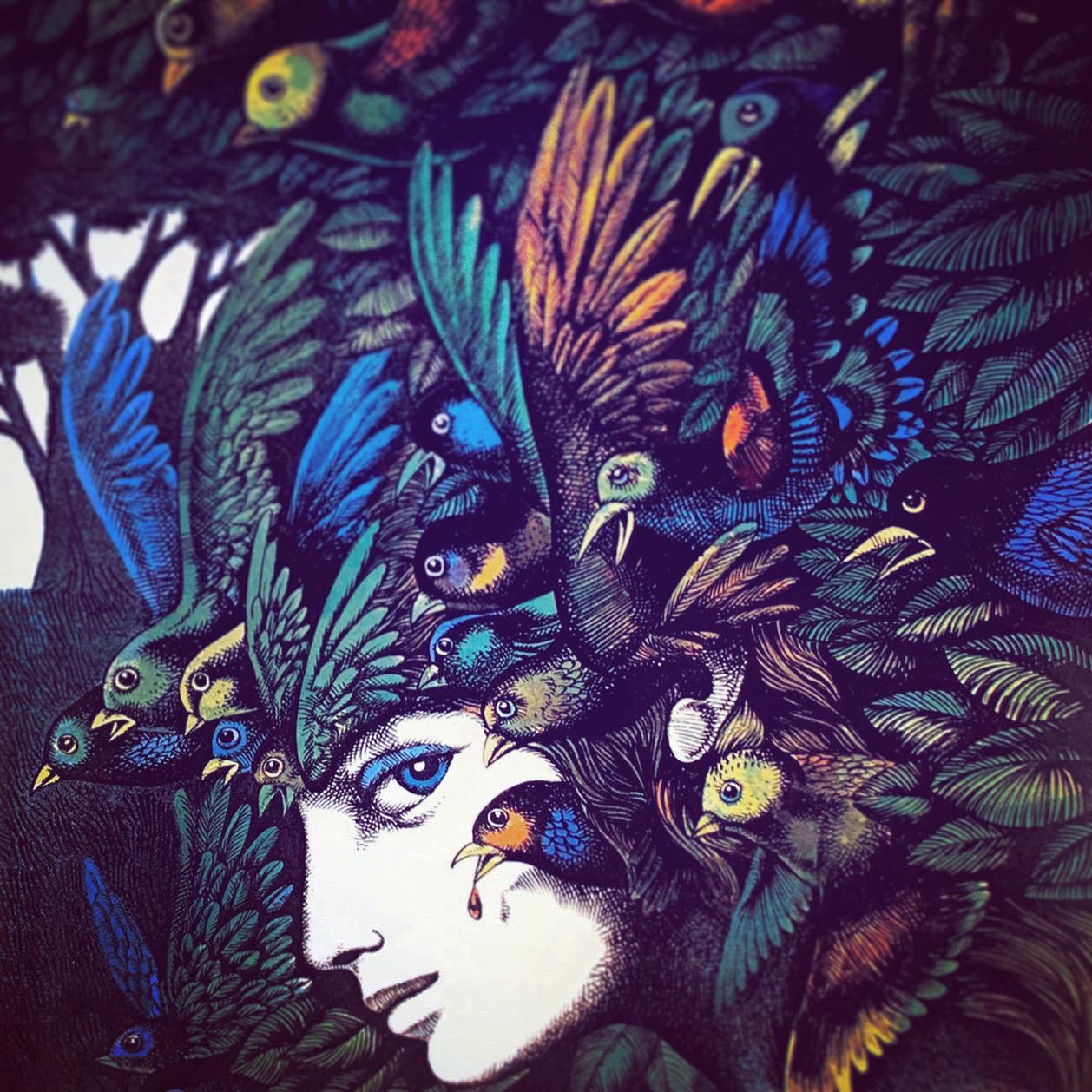 Fågelflicka
