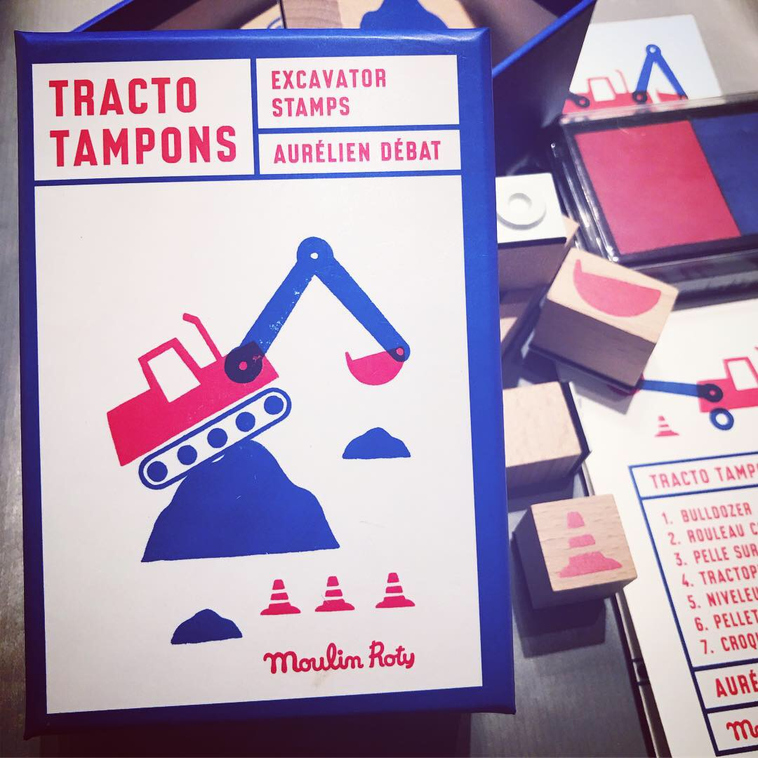 Tracto Tampons – Stämpelsats Grävskopor
