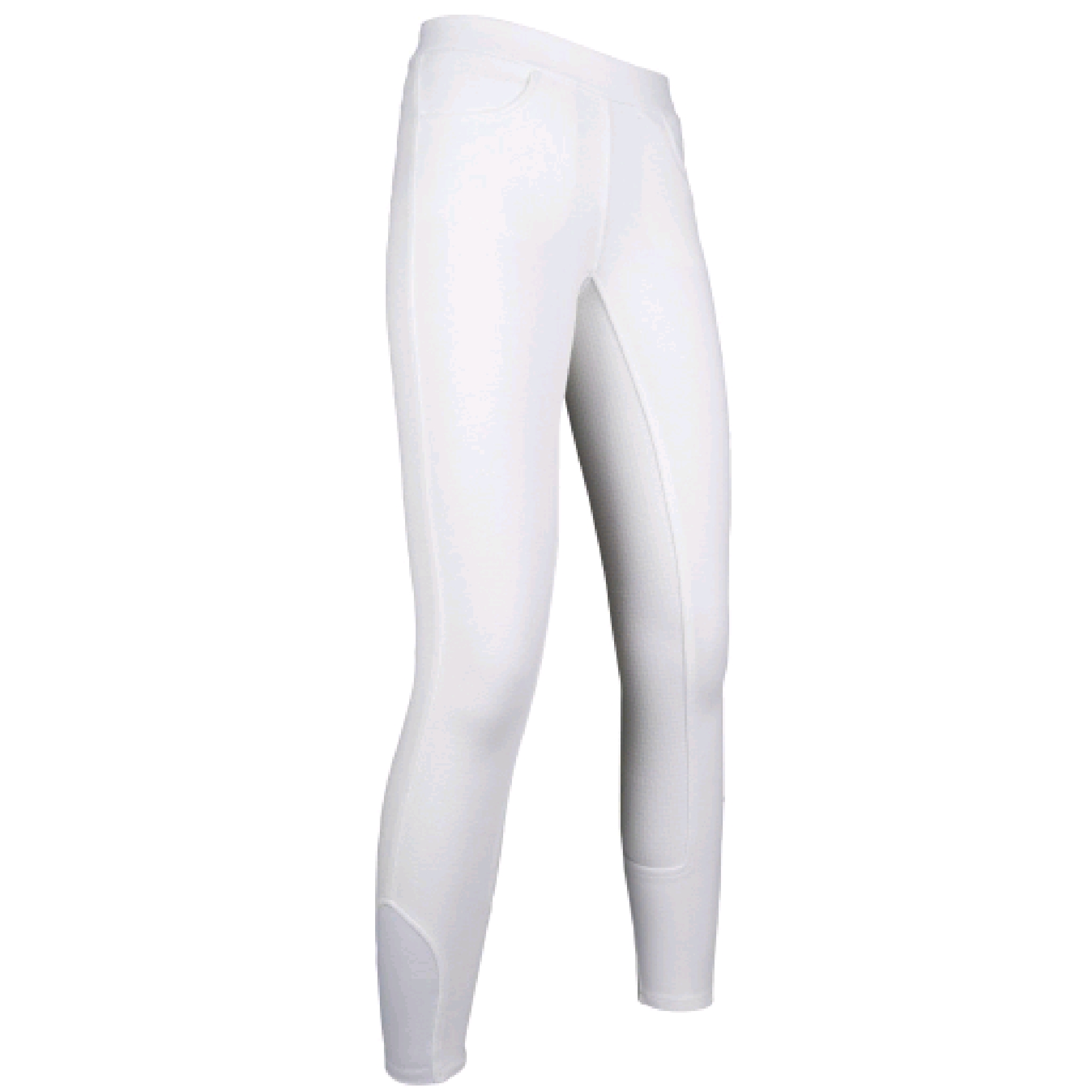 HKM Full Seat Yvi White Riding Leggings