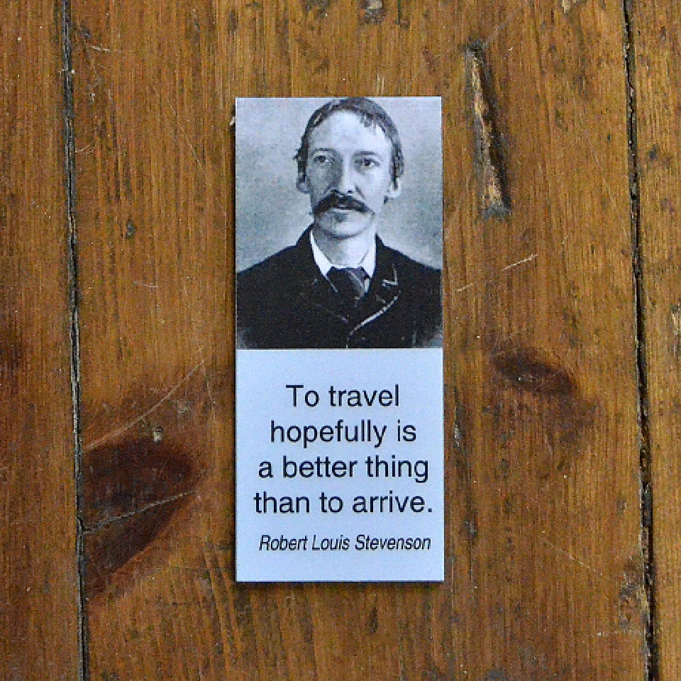 Magnetiskt bokmärke - Robert Louis Stevenson