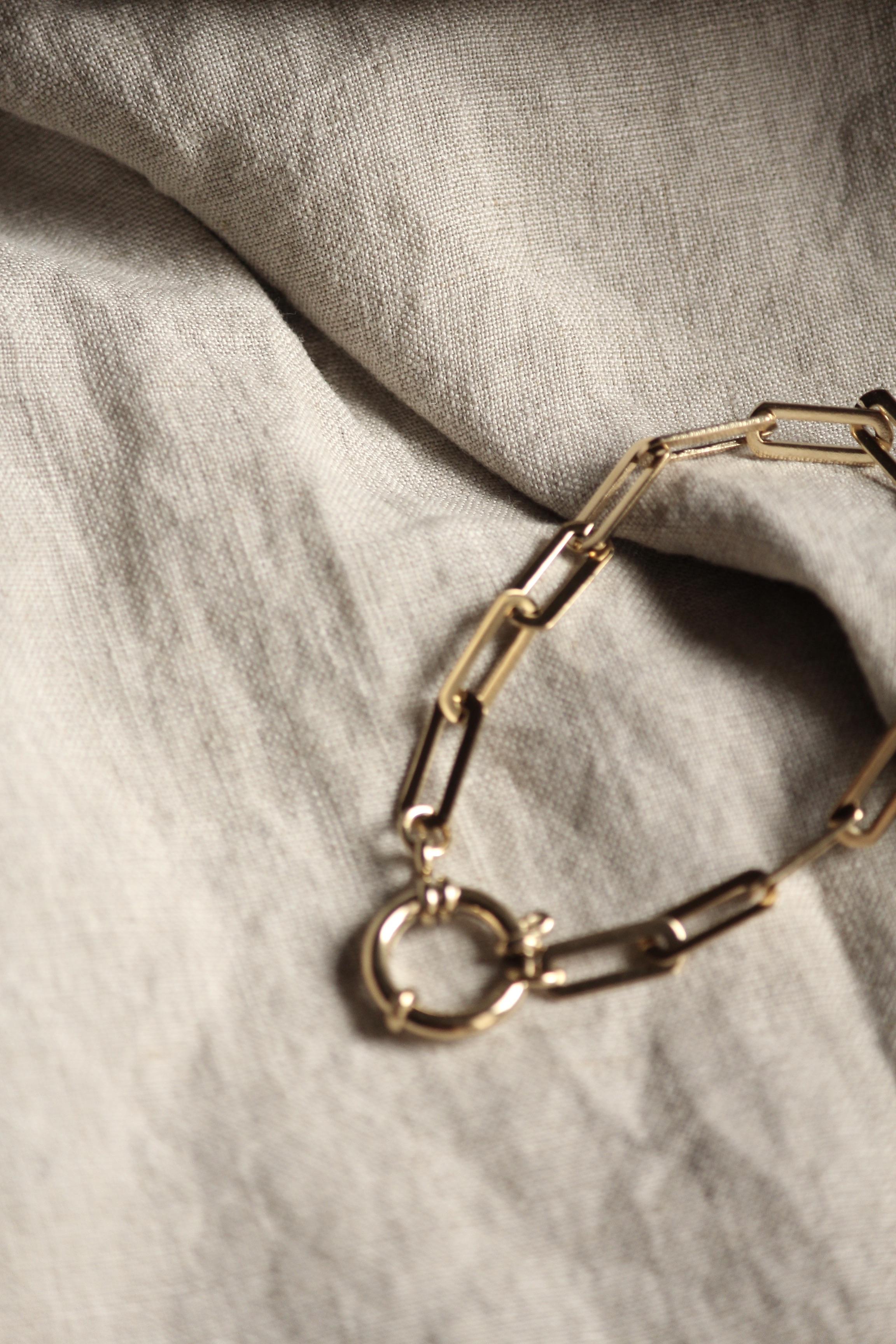 """Chunky Chain Bracelet """"Drew"""""""