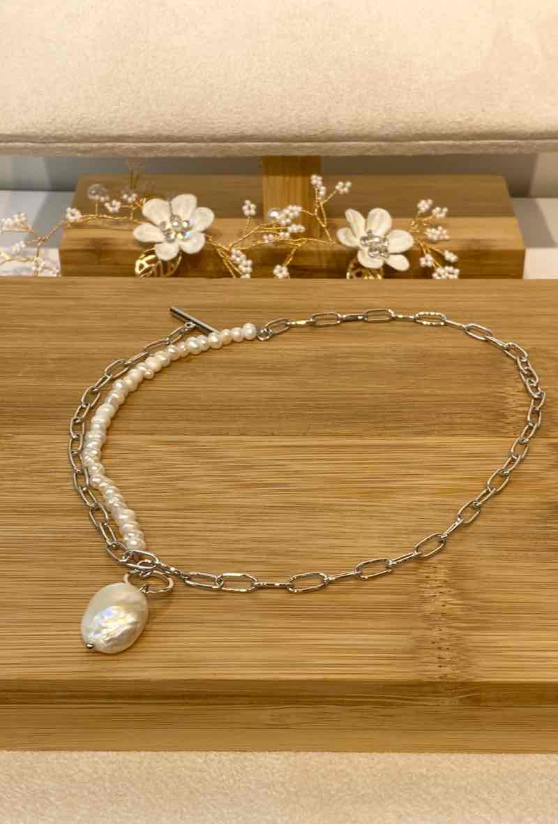 "Kette Mixed Chain ""Zoe Pearl"""