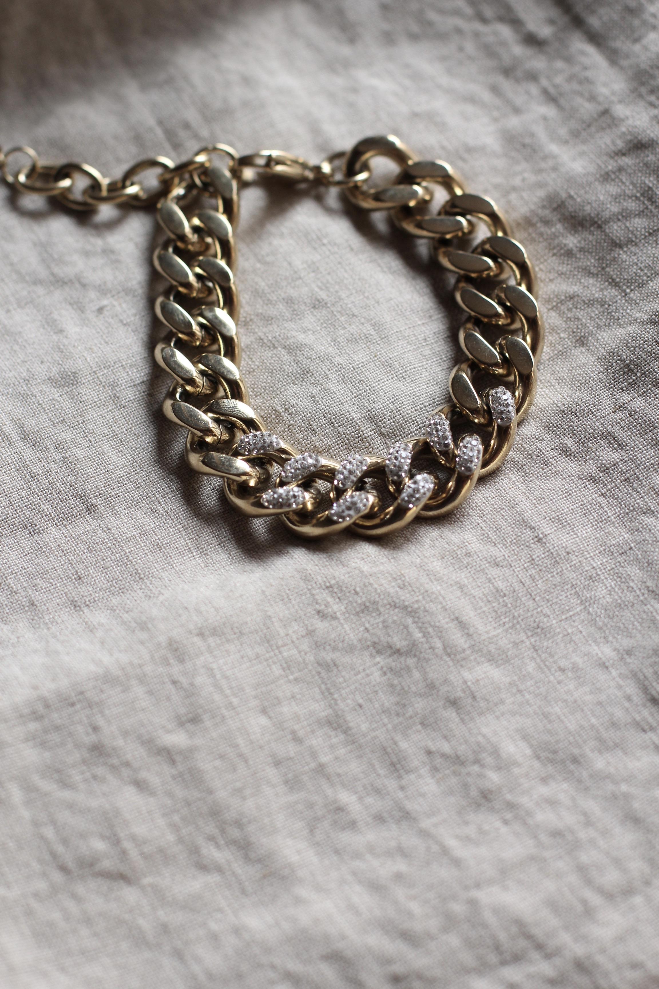 """Chunky Chain Bracelet """"Leonie Stone"""""""
