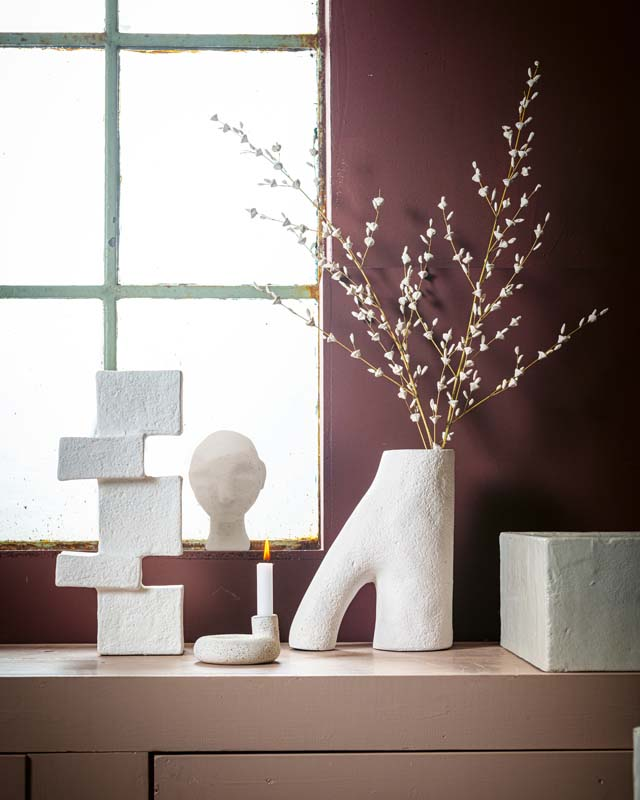 Ecomix Sculpture Head Small Sand by vtwonen