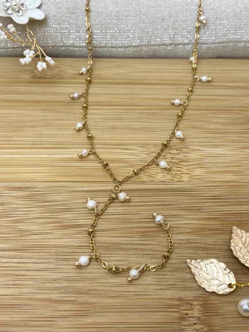 Perlenkette Y
