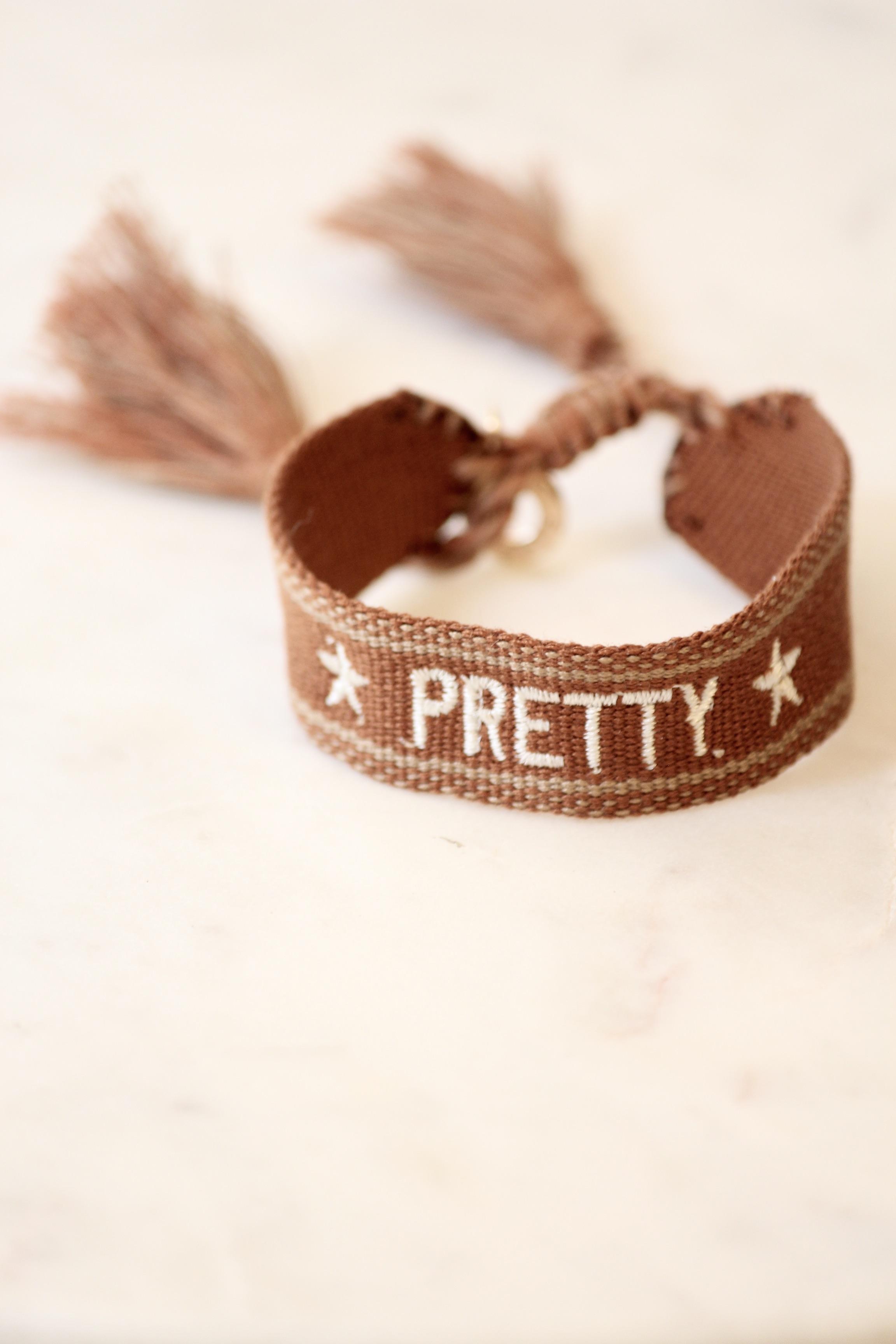 """Boho Armband """"PRETTY"""""""