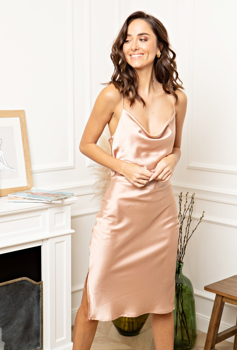 "Satin Dress Kleid ""Kendall"""