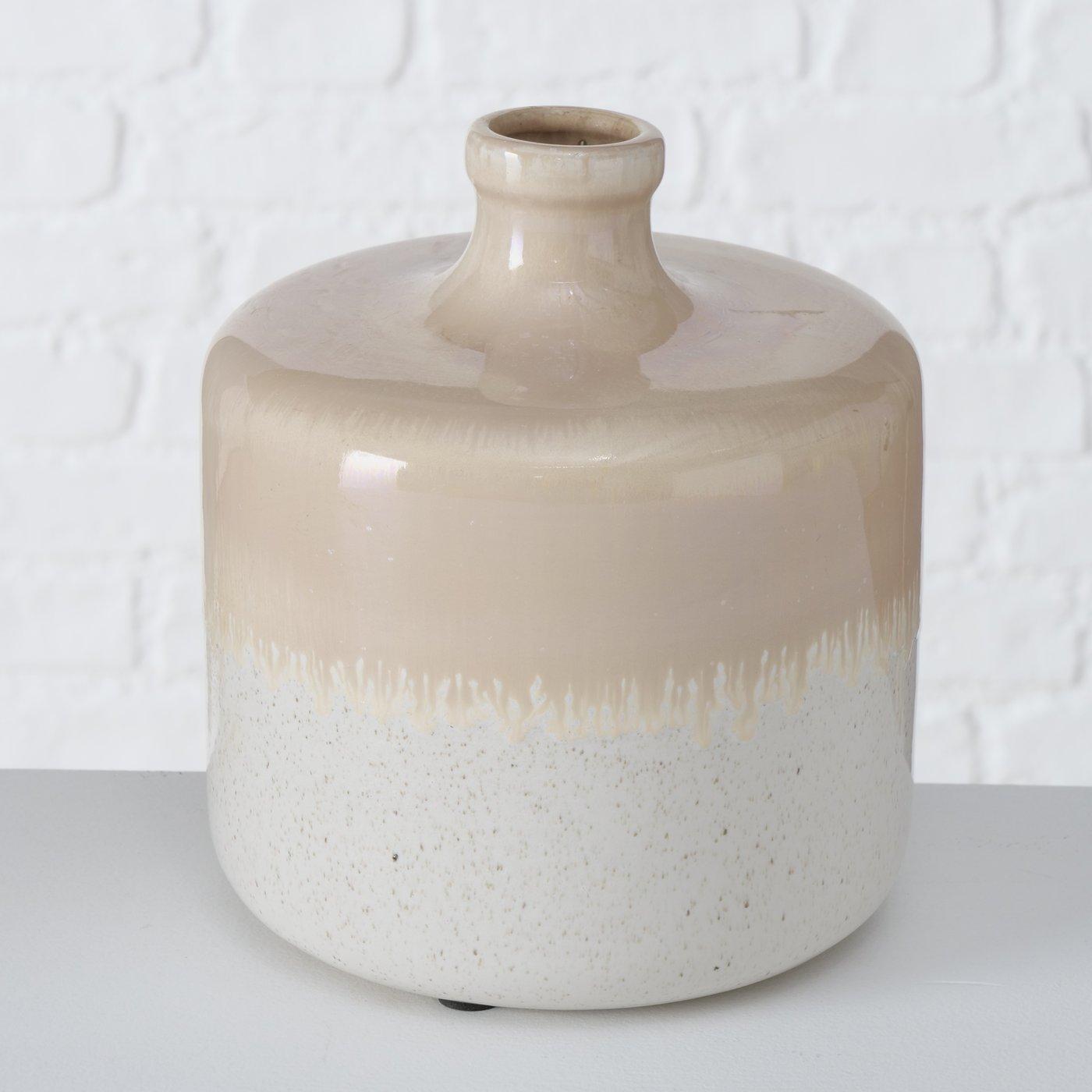 "Vase Steingut ""Copenhagen"""