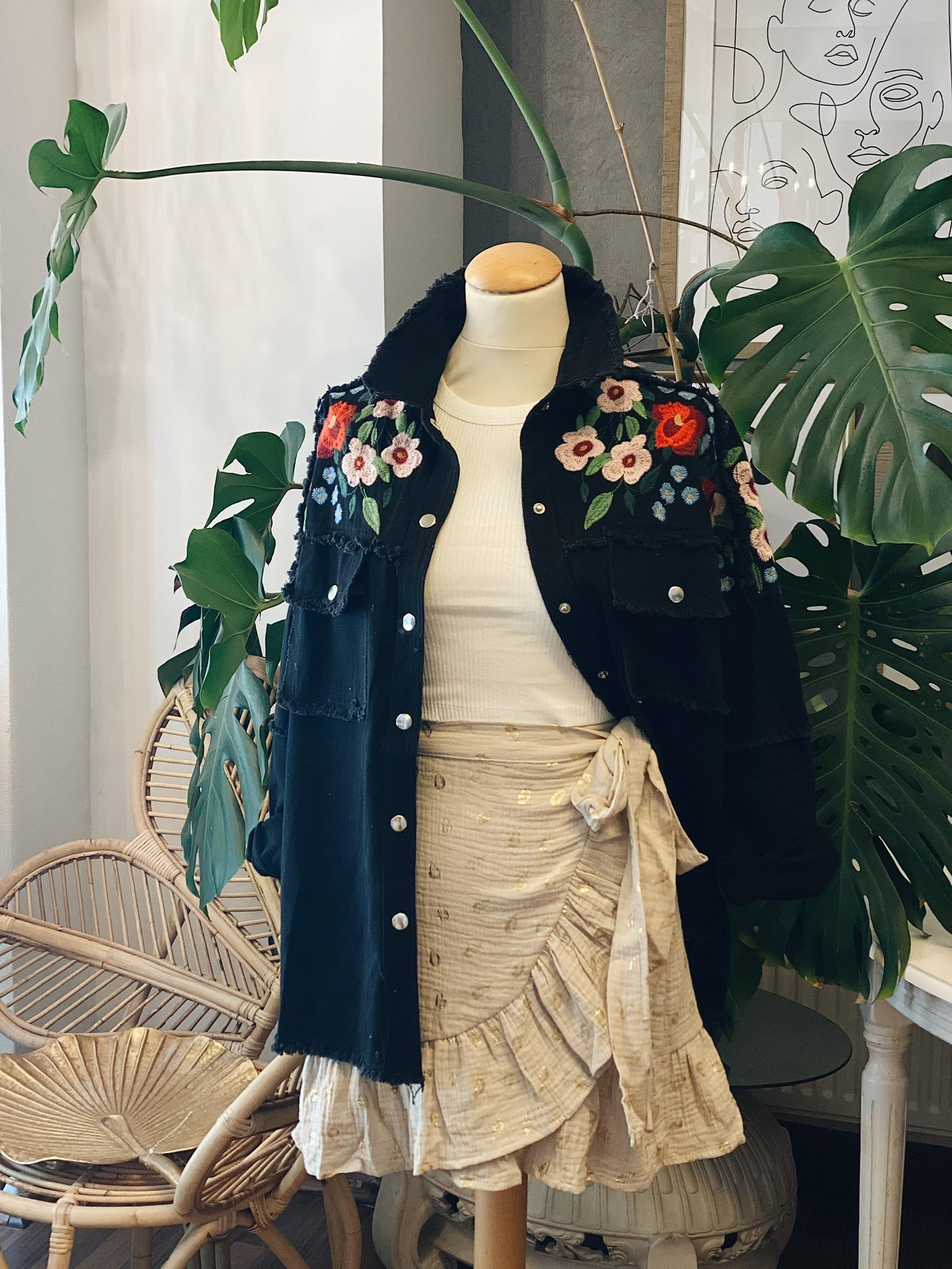 "Jacke ""Bohemian Flower Embroidered"""