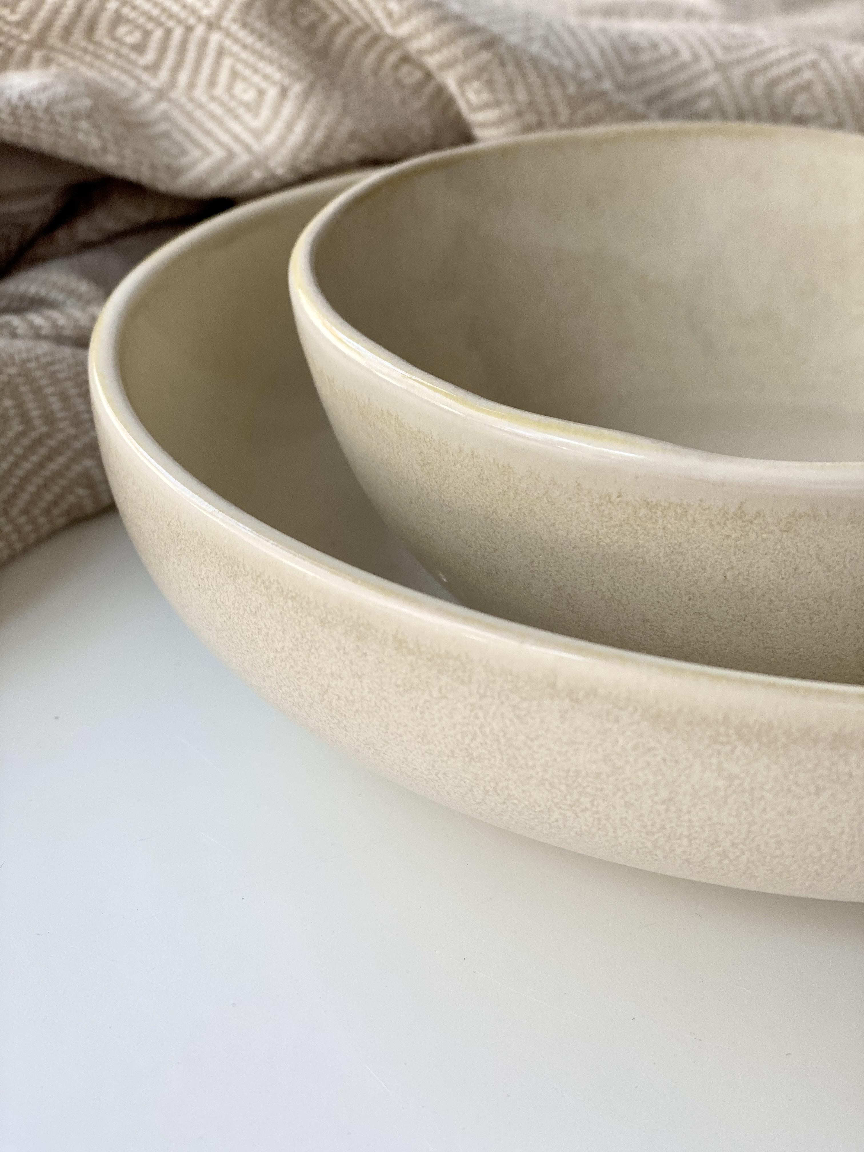 "Bowl Artisanal ""Nori Honey"" 19 cm"